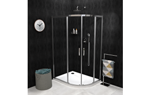 SIGMA SIMPLY Quadrant Shower Enclosure 1000x800mm, R550, clear glass