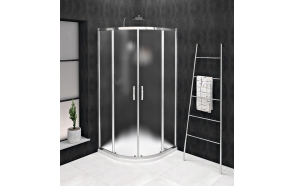 SIGMA SIMPLY Quadrant Shower Enclosure 800x800mm, R550, glass Brick