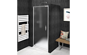SIGMA SIMPLY Pivot Shower Door 880-920 mm, glass Brick