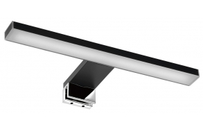 ESTHER 2 LED valgusti, 6W, 280x14x107mm, must