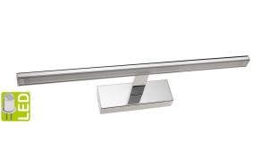 ESTHER LED wall light, 6W, 494x62x131mm, chrome