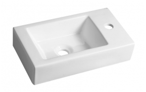 ceramic washbasin Melinda, 46x26.5 cm