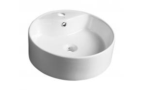 YAKARTA ceramic washbasin, diameter 46cm, top counter