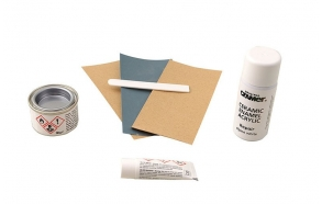 REPAIR KIT ceramics, enamel and acrylic, white