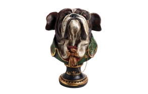 "7-1/2""H Resin Bulldog"