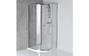dušikaar Arleta, 90x90 cm, kirgas klaas