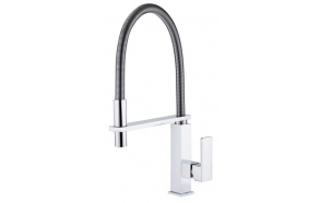 MAYA kitchen mixer, chrome
