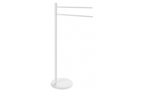 Freestanding Towel holder , white