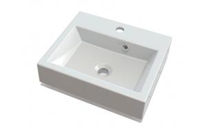 ORINOKO Cultured MarbleWashbasin 42x10x36cm