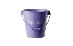 Bucket w/numbers, purple
