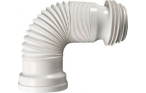 WC Flexible connection, extendible, 245-560 mm