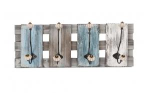 Wooden hook Furi, 59x12.5x22cm