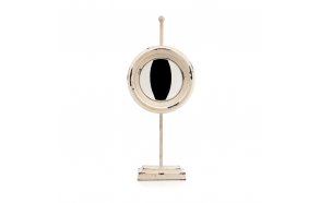metal vintage table mirror