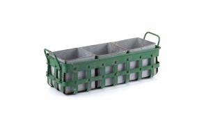 metal vintage basket