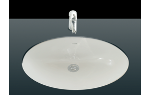 36X50 cm UNDERCOUNTER MEDIUM WASHBASIN WHITE (outer dimensions 56x42 cm)