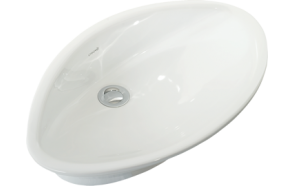 TOPCOUNTER WASHBASIN WHITE