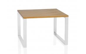 SQUARE OAK TABLE