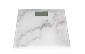 MARBLE EFFECT DIGITAL BATHROOM SCALE
