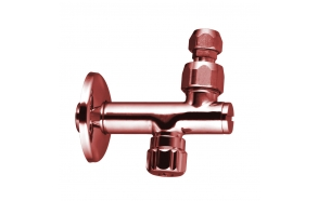 UNDERBASIN TAP WITH FILTER - JOINT CONNECTION PINK GOLD