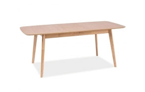 dining table Nordic,150x95 cm, oak