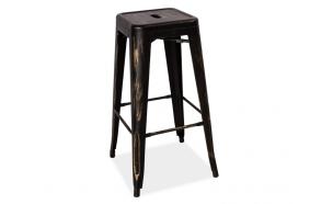 bar stool Industrial 3,antique black