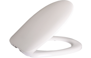 (CINAR) KLASIK, MERCAN,CORNER ,PITTA SOFT CLOSING SEAT COVER WHITE