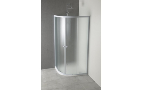ARLEN Quadrant Shower Enclosure 800x800mm, BRICK Glass