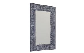 UBUD mirror with frame, 70x100cm, Gray