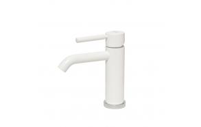 basin mixer Form A, mat white finish