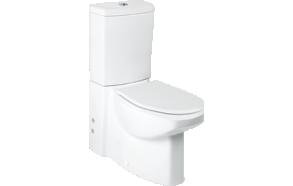 SPARK WC kompakt, 2-süsteemne, universaalne, ilma istmeta