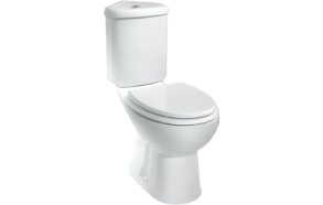 CORNER WC COMPACT,WHITE, P-TRAP TRAP, NO SEAT