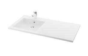 silkstone basin Credo 120cm,basin on  left