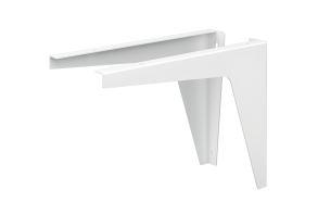 white painted bracket for silkstone basins Credo,Piano, 1 pcs