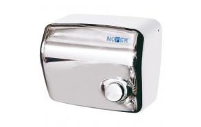 Electric Hand Dryer with Switch, 1500W, Stainless Steel