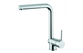 Pull 1 sink mixer with pull out spray and swivel spout