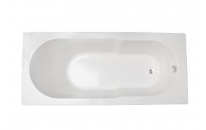 akrüülvann Oceania 160x75 cm+vanni täisraam ja pikk esipaneel