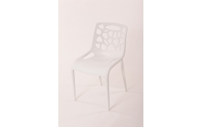 chair Dottie 2, white