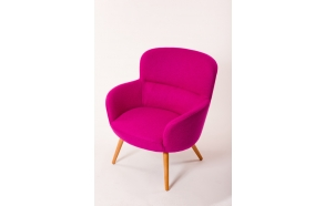 low armchair Chips, Nordic purple (HO-17)