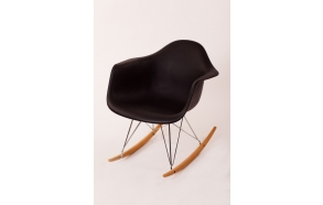 swinging chair Beata, black