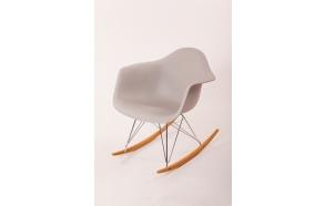 swinging chair Beata, light grey