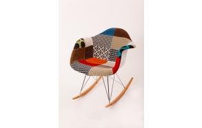 "swinging chair Beata, ""patchwork"""