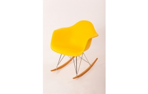 swinging chair Beata, yellow