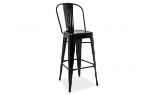 bar stool Amelia, black