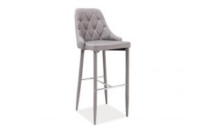 bar stool Queen, grey