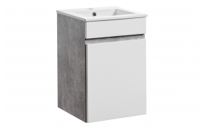 cabinet under washbasin Atelier, 40 cm (1D), basin not included