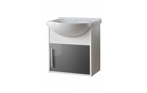 cabinet under washbasin Domino (1D), basin not included