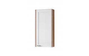 upper cabinet (1D) Piano, oak+white