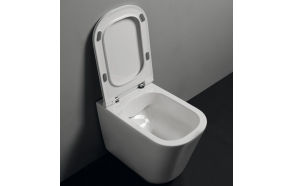 rimless wc pan Tribeca, wall mount - to be connected with wc frame