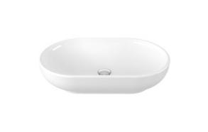worktop basin 40x65 cm, white