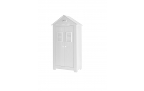 Marseilles MDF - 2-door high wardrobe